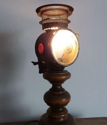 Lampe vélo à bougie n° 14