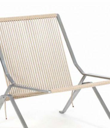 PK 25 - Chaise en acier inoxydable