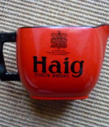 pichet publicitaire vintage Haig scotch whisky