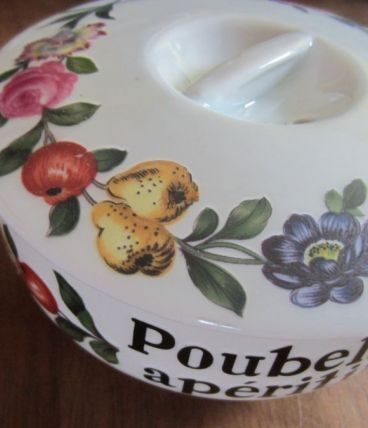 Poubelle Apéritif - Porcelaine de Paris