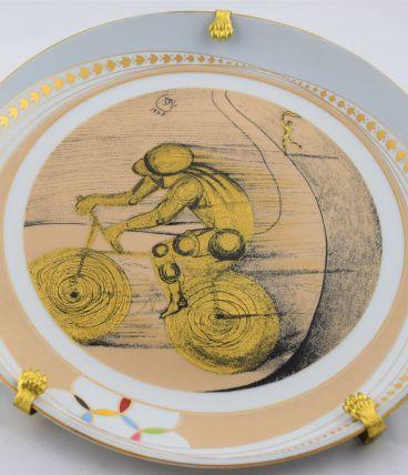 Assiette Salvador Dali Deportes Cyclisme (ciclismo)