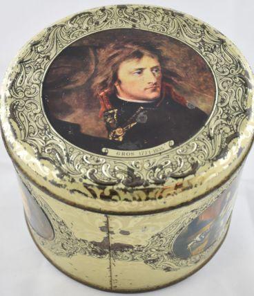 Boite à biscuits Napoléon