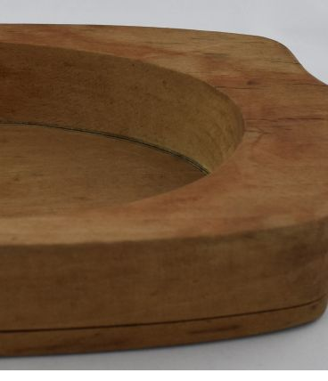 Moule à beurre ancien en bois