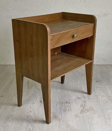 Table de chevet vintage 60's