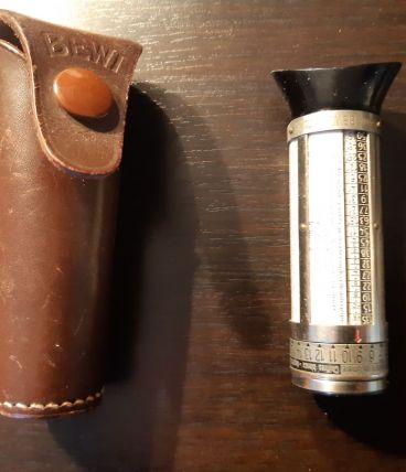 POSEMETRE ALLEMAND ANCIEN BEWI Lichtmeter ANNEES 30