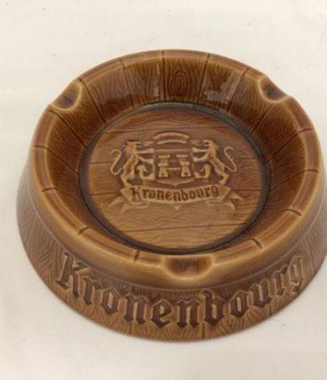cendrier publicitaire Kronenbourg vintage