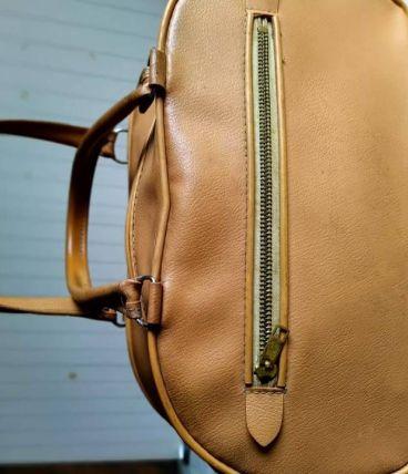 Petit sac à main  beige année 1960