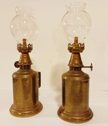 "DUO DE LAMPES ""OLYMPE"""