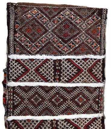 Tapis vintage Marocain Berber fait main, 1P47
