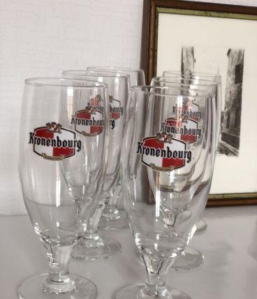 Set de 6 verres à bière Konenbourg Alsace