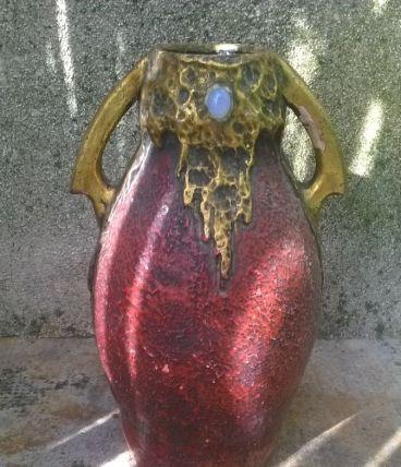 Vase d'epoque Art nouveau Allemand