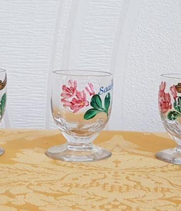 mini verres faits main