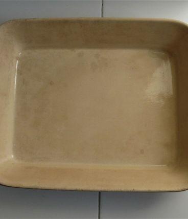 Grand plat en grès