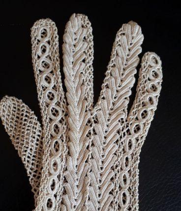 Paire de gants cérémonie