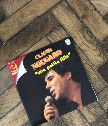 Vinyle Claude Nougaro «une petite fille»