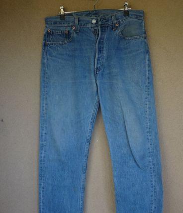 jean levis 501 fabriqué USA années 90. 33/34