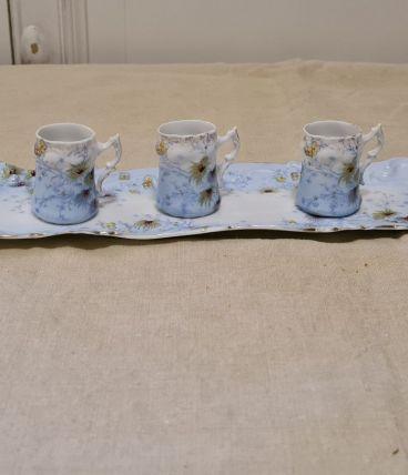 3 Miniatures sur plateau