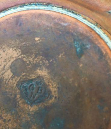 Pot en cuivre et laiton ( GBN)