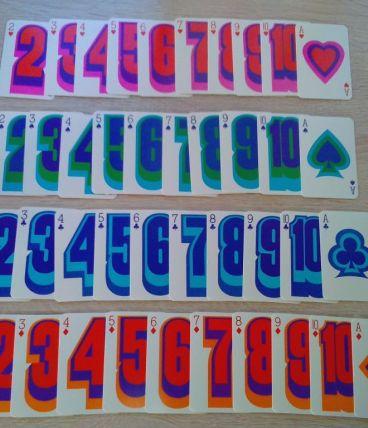 Jeu de cartes SLC