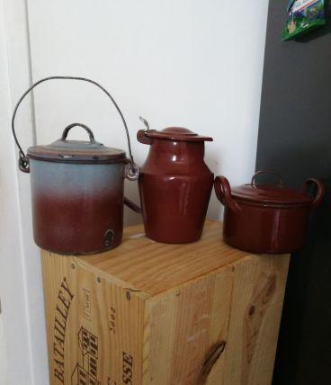 Trio en céramique