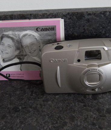appareil photo canon prima BF-90 platinum colour