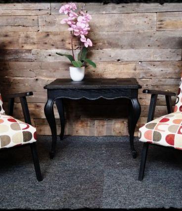 paire de fauteuil scandinave
