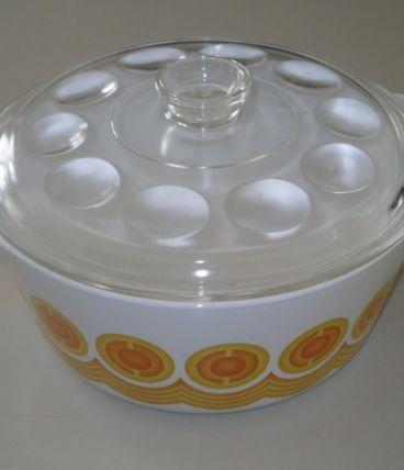 Cocote ,casserole  vintage 70's Pyroflam Électro
