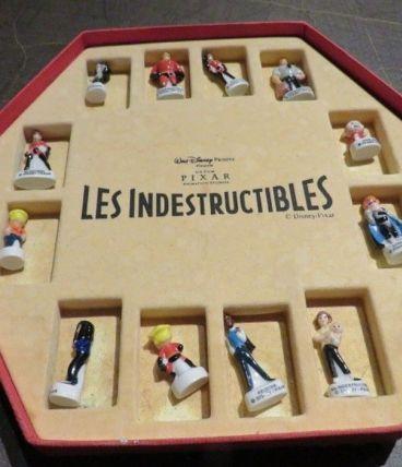 """Collection fèves """"Les Indestructibles"""""""