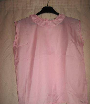 Vintage - corsage boutonné dans le dos