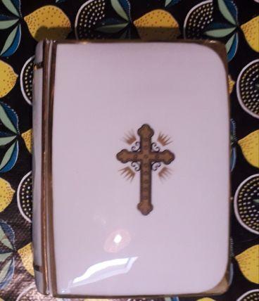 Boîte à bijoux communion Missel