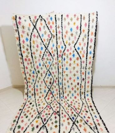 258x157cm Tapis Berbere Marocain Azilal