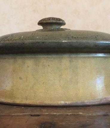 Joli ancien plat à terrine