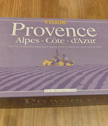 Jeu de société Vision Provence Alpes Côte d'Azur en 2000 que