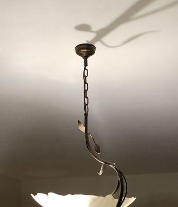 Suspension style fer rouillé