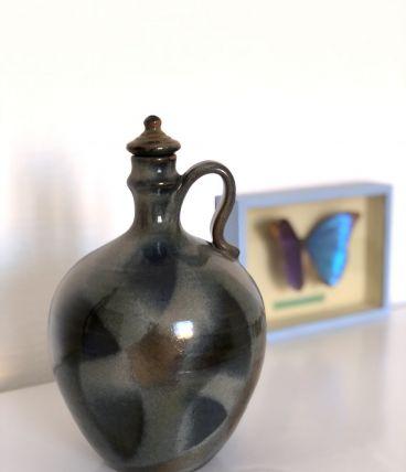 Mignonne jarre en grès vintage