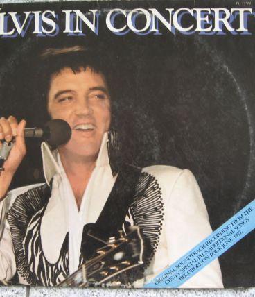 Vinyle - Elvis in concert