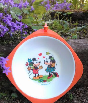 Assiette à bouillie vintage - Walt Disney productions
