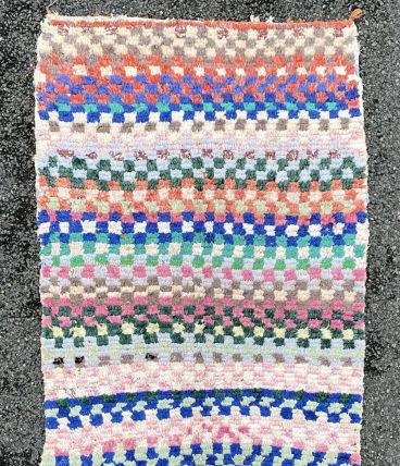tapis berbere boucherouite