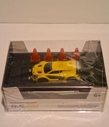 Petite Renault Sport R.S. 01 radio commandée jaune