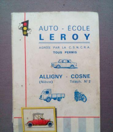 Ancien manuel autoécole