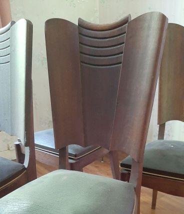 lot de 6 chaises anciennes