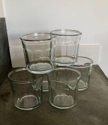 6 Pots à confiture anciens