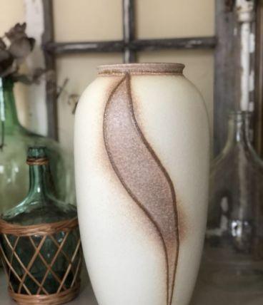 Grand vase en céramique W GERMANY vintage