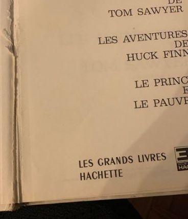 Les aventures de tom Saywer / Le prince et le pauvre / Les a