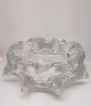Cendrier vide-poches en cristal forme étoile