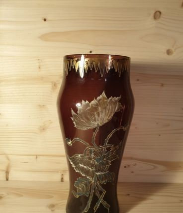 Cristal de baccarat ,vase début 20 ème siècle