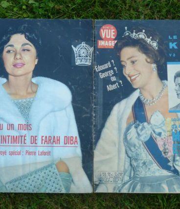 2 anciennes revues Point de Vue Images du Monde 1960