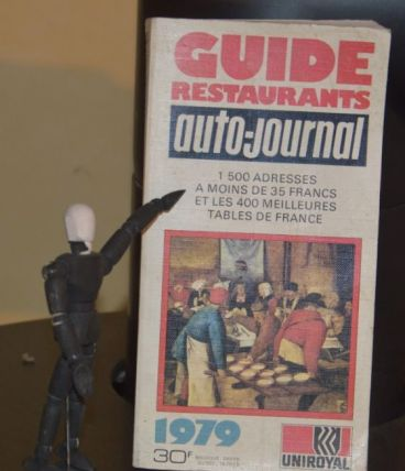 Guide restaurants auto-journal 1979