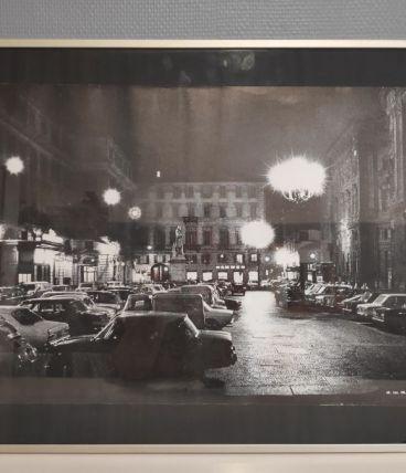 cadre photo originale vintage en noir et blanc