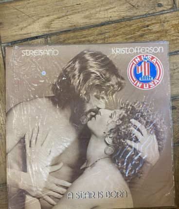Vinyle vintage Streisand et Kristofferson - A Star is Born